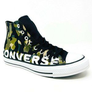 Converse Chuck Taylor All Star Hi Black Camo